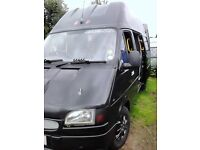 Auto 4 berth campervan, bunks beds and double