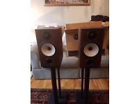 Monitor Audio BX2 Speakers in Walnut Boxed
