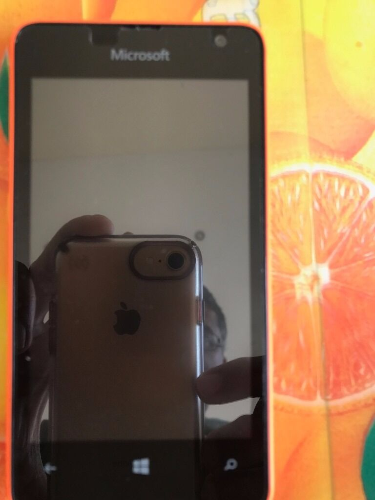 Microsoft Lumia 430 DUAL SIM Simfree Windows Smartphone orange charger phone cover screen protectoin Harrow, LondonGumtree - Microsoft / Nokia Lumia 430 DUAL SIM Simfree Unlocked 8GB Windows Smartphone orange Unlocked perfect working condition • DUAL SIM ( Micro Sim ) • •1.2 GHz Qualcomm Snapdragon 200 Dual Core Processor • •2 MP Primary Camera •0.3 MP...