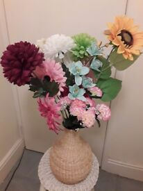These flowers in a vase would add a nice pop of colour in your home