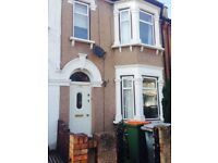 """Large 4 bedroom situated a short walk to east ham tube station,"""