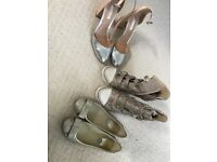 Designer footwear ladies size 4 Ash boots Guess pumps KG heels