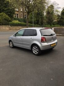 VW POLO 1.4 MATCH 2009 Silver