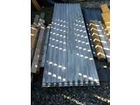 Cement fibre roof sheets