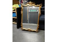 beautiful gold framed mirrors £20.00