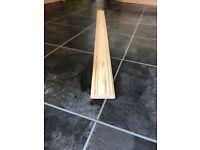 117cm long dado rail