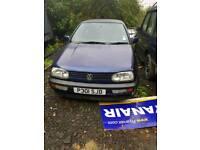 Volkswagen Golf Cabriolet 1997 1.8 Petrol