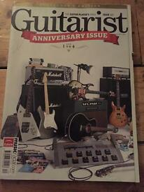 Guitarist magazines from the 90s to around 2010