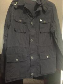 Ralph Lauren new navy hooded jacket