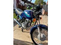 Honda cg 125 W 2000 year 12 months m.o.t
