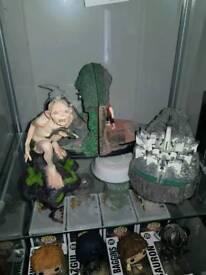 Lord of the rings sideshow weta gollum statue rare premium gollum statue lotr