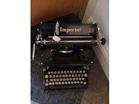 Vintage typewriter for refurb