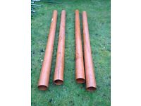 Plastic waste pipes