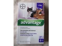 Advantage - Flea treatment for Cats or Rabbits over 4Kg