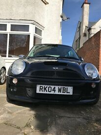 2004 Stunning Black Mini Cooper S WORKS
