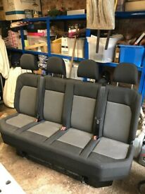 VW Crafter - 4 seater cab bench