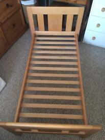 John Lewis Abigail cot bed with mattress