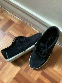 Lacoste boat shoes, size 7