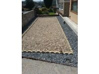 Decorative gravel free to bag and collect