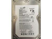 Seagate 500GB HDD SATA 3.5 - Fully wiped hard drive