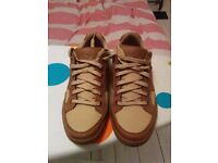 Timberland Men's Quality Leather Sneakers UK size 7.5