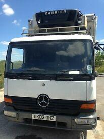 Mercedes 7.5 tone fridge lorry
