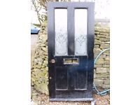 Hard Wooden External Door