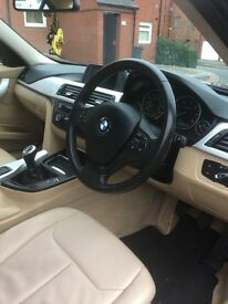 BMW 3 series efficient dynamics year 2012 new shape