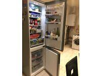 Refrigerator - Freestanding frost free bosh fridge freezer, stainless steel look