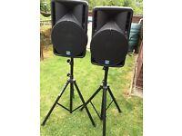 DB powered speakers