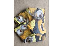 Minions duvet cover double and two pillow cases