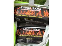 Fire logs (7) suitable for chimenea, wood stove or open fire