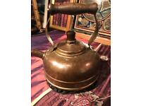 Beautiful Old Open Fire 🔥 Kettle