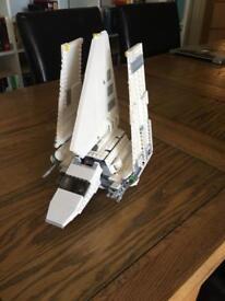 Lego star wars shuttle