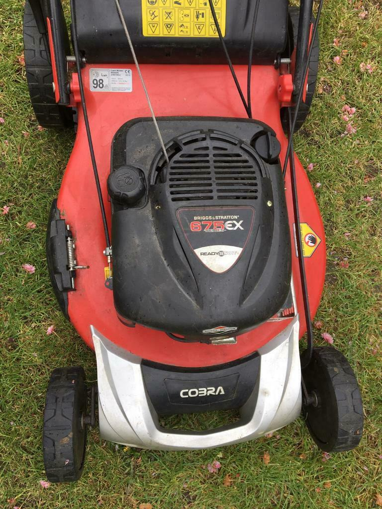 Large Self Propelled Petrol Lawn Mower 54cm I Think In