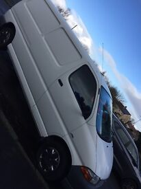 Toyota hiace van in great condition fully fitted with shelfs and brackets