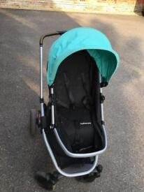 Monther care Pram with carrying cot and rain cover