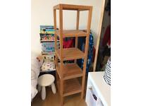 Habitat freestanding towel/shelving unit