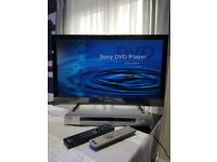 """SONY BRAVIA KDL-26EX320 26"""" LCD LED TV & CD / DVD PLAYER DVP-NS330 DELIVERY AVAILABLE"""