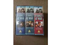 """COMPLETE FIRST SERIES OF """"A FAMILY AT WAR"""" VIDEO BOXSET"""