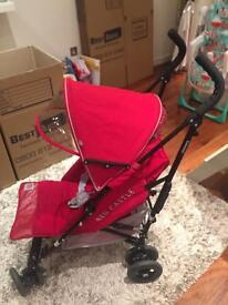 Stroller - Red Castle Connect Up Red