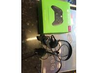 Xbox one joypad boxed and headphones