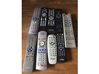 8 remote controls