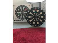 New boxed soft play dart board and darts