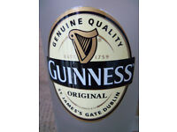 Breweriana man cave - 2 Guinness misted glass tankards