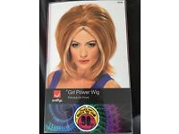 Geri spice girls fancy dress outfit small with wig