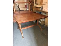 4 seater rectangle dining table (chairs available)