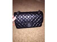 Black Chanel bag