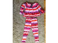Brand New women's off the shoulder two piece suit