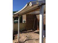 Patio canopy/ car port/smoking shelter